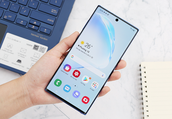 nguyen nhan samsung note 10 plus bi nong may