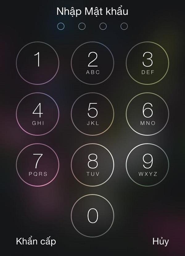 cach mo khoa iphone khi quen mat khau