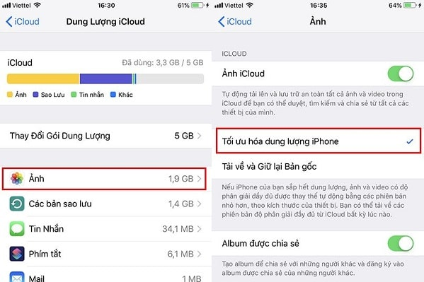 toi ung hoa dung luong iphone