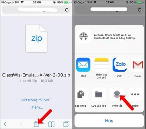 Cách giải nén file trên iOS 11