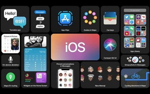 Cập nhập iOS cho điện thoại