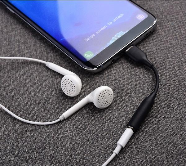 Điện thoại Samsung không nhận tai nghe Type C