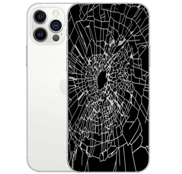 iPhone 12 Pro Max bể mặt kính