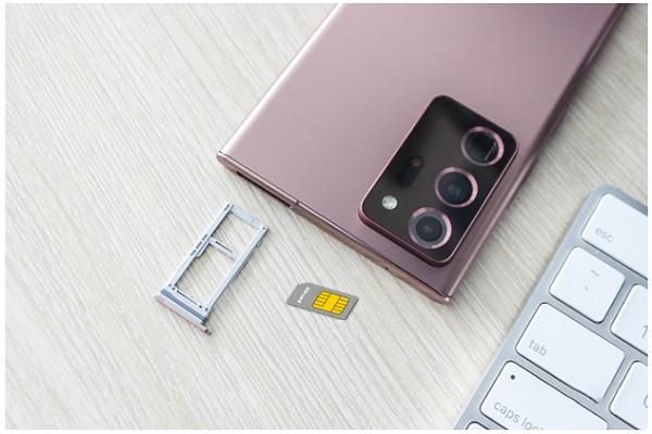 Kiểm tra SIM điện thoại Samsung Note 20 Ultra