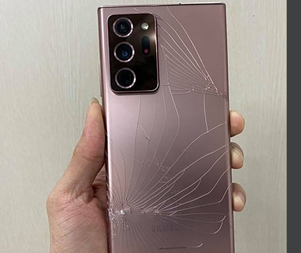 Samsung Note 20 Ultra bị mất camera