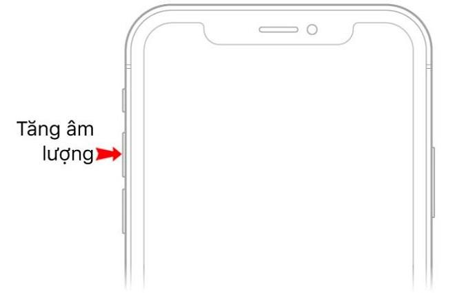 Tăng âm lượng iPhone 11 Pro Max