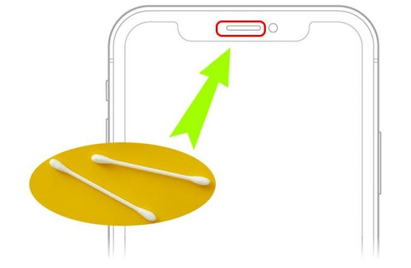 Vệ sinh màng loa iPhone 11 Pro Max